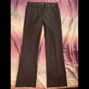 New Guess Pinstripe Career Work Pants